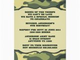 Camo Birthday Card Template Free Printable Camouflage Invitations