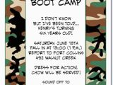 Camo Birthday Invites Camouflage Invitations Camo Party Invitations Military