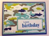 Camouflage Birthday Cards Camo Birthday Card Camouflage Card Camoflage by