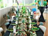 Camouflage Birthday Decorations Camouflage Military Quot Laser Tag Quot Birthday Boys Party Ideas