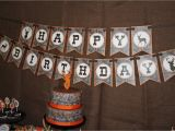 Camouflage Happy Birthday Banner Camo Boy Hunting Banner Birthday Party Printable Happy