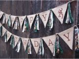 Camouflage Happy Birthday Banner Happy Birthday Banner 1st Birthday Camo by Wearefamilycrafts