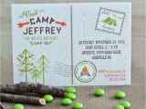 Camping Birthday Invites A Backyard Camping Birthday Party anders Ruff Custom