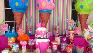 Candy Decorations for Birthday Parties Candy Birthday Quot Candy Land Quot Catch My Party
