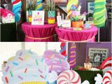 Candy Decorations for Birthday Party Amazing Willy Wonka Party Perfect Candyland Party Ideas