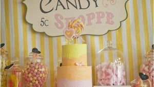 Candy Shop Birthday Party Decorations Kara 39 S Party Ideas Vintage Candy Sweet Shoppe Girl 6th