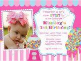 Candy Shoppe Birthday Invitations Sweet Shoppe Birthday Invitation Candyland Birthday Diy