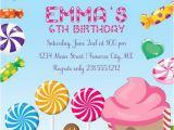 Candyland Birthday Invites Candyland Invitation Girls Birthday Invitations Candyland