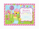 Candyland Birthday Invites Candyland Invitation Template Invitation Template