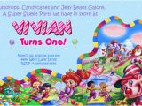 Candyland Birthday Invites Candyland Party Invitations Template Best Template