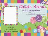 Candyland Birthday Invites Free Printable Candyland Invitation Blank Template