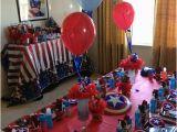 Captain America Birthday Decorations Captain America Birthday Party Ideas Captain America