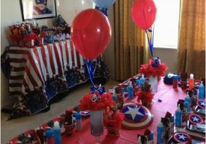 Captain America Birthday Decorations Captain America Birthday Party Ideas Captain America