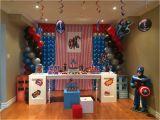 Captain America Birthday Decorations Captain America Birthday Party Ideas Photo 1 Of 32