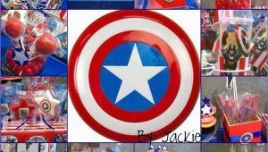 Captain America Birthday Decorations Captain America Birthday Party Ideas Photo 7 Of 7