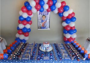 Captain America Birthday Decorations Captain America Birthday Party Ideas Purpletrail