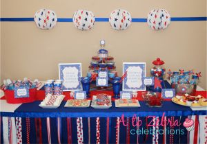 Captain America Birthday Decorations Laine Design Captain America Party Ideas and Inspiration