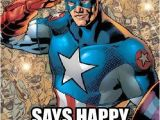 Captain America Birthday Meme Happy Bday From Captain America