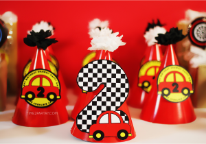 Car themed Birthday Decorations A Car themed Birthday Party Time2partay Com