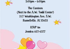 Care Bear Birthday Invitations Suzan Diaz Morales On Etsy