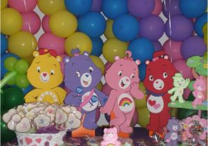 Care Bears Birthday Party Decorations A Love To Create Bear