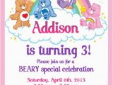 Care Bears Birthday Party Invitations 25 Best Ideas About Care Bear Party On Pinterest Care