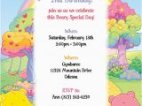 Care Bears Birthday Party Invitations 53 Best Images About Care Bear Invitations On Pinterest