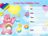 Care Bears Birthday Party Invitations Alana Lee Designs Custom Photo Products with Personality