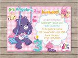 Care Bears Birthday Party Invitations Berryliciousdesign On Etsy
