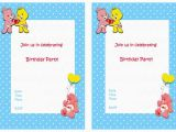 Care Bears Birthday Party Invitations Care Bears Birthday Invitations Birthday Printable
