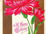 Carnation Birthday Flowers Antique Images Free Vintage Flower Graphic Pink
