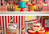 Carnival Birthday Party Decoration Ideas Kara 39 S Party Ideas Circus Carnival Boy Girl 5th Birthday