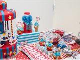 Carnival themed 1st Birthday Girl Kara 39 S Party Ideas Circus Carnival themed First Birthday