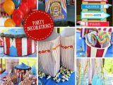 Carnival themed Birthday Party Decorations Carnival Party Ideas Circus Party Ideas at Birthday In A Box