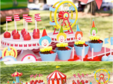 Carnival themed Birthday Party Decorations Circus Big top Carnival themed Party Via Karas Party Ideas