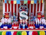 Carnival themed Birthday Party Decorations Colorful Circus Carnival Party Ideas Simonemadeit Com