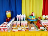 Carnival themed Birthday Party Decorations Colourful Carnival themed Birthday Party Margusriga Baby