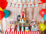 Carnival themed Birthday Party Decorations Kara 39 S Party Ideas Backyard Carnival Party Kara 39 S Party