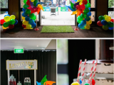 Carnival themed Birthday Party Decorations Kara 39 S Party Ideas Circus Carnival Boy Girl 5th Birthday