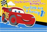 Cars 1st Birthday Invitations 17 Best Images About Cars Birthday On Pinterest Cars