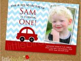 Cars 1st Birthday Invitations Best 11 Red Car themed 1st Birthday Inspiration Images On