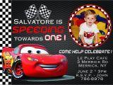 Cars 1st Birthday Invitations Cars Birthday Invitation Card