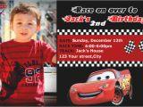 Cars 1st Birthday Invitations Sample Cars Birthday Invitation orderecigsjuice Info