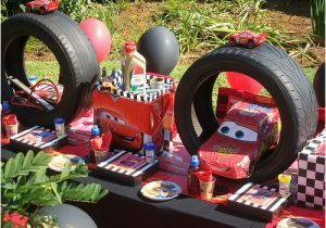 Cars 2 Birthday Party Decorations Disney Ideas Yvonnebyattsfamilyfun
