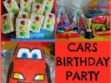 Cars 2 Birthday Party Decorations Disney Cars themed Birthday Party Ideas Making Time for