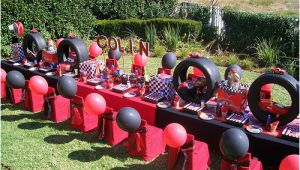 Cars 2 Decorations for Birthday Parties Disney Cars Birthday Party Ideas Yvonnebyattsfamilyfun