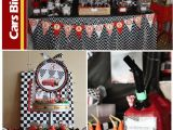 Cars 2 Decorations for Birthday Parties Disney Cars Birthday Party Pizzazzerie