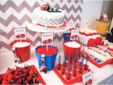 Cars 2 Decorations for Birthday Parties Kara 39 S Party Ideas Car themed Boy 2nd Birthday Party