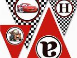 Cars 3 Happy Birthday Banner Diy Printable Cars Cars 2 Party Happy Birthday by sohappyshop