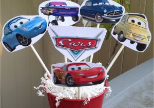 Cars Decoration For Birthday 1 Centerpiece Disney Inspired Party Decorations